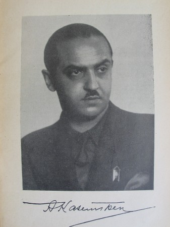 Alexander Kazem-Bek, em data desconhecida.